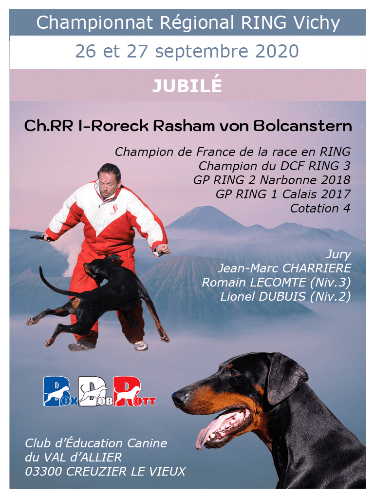 Jubilee French RING I-Roreck Rasham von Bolcanstern